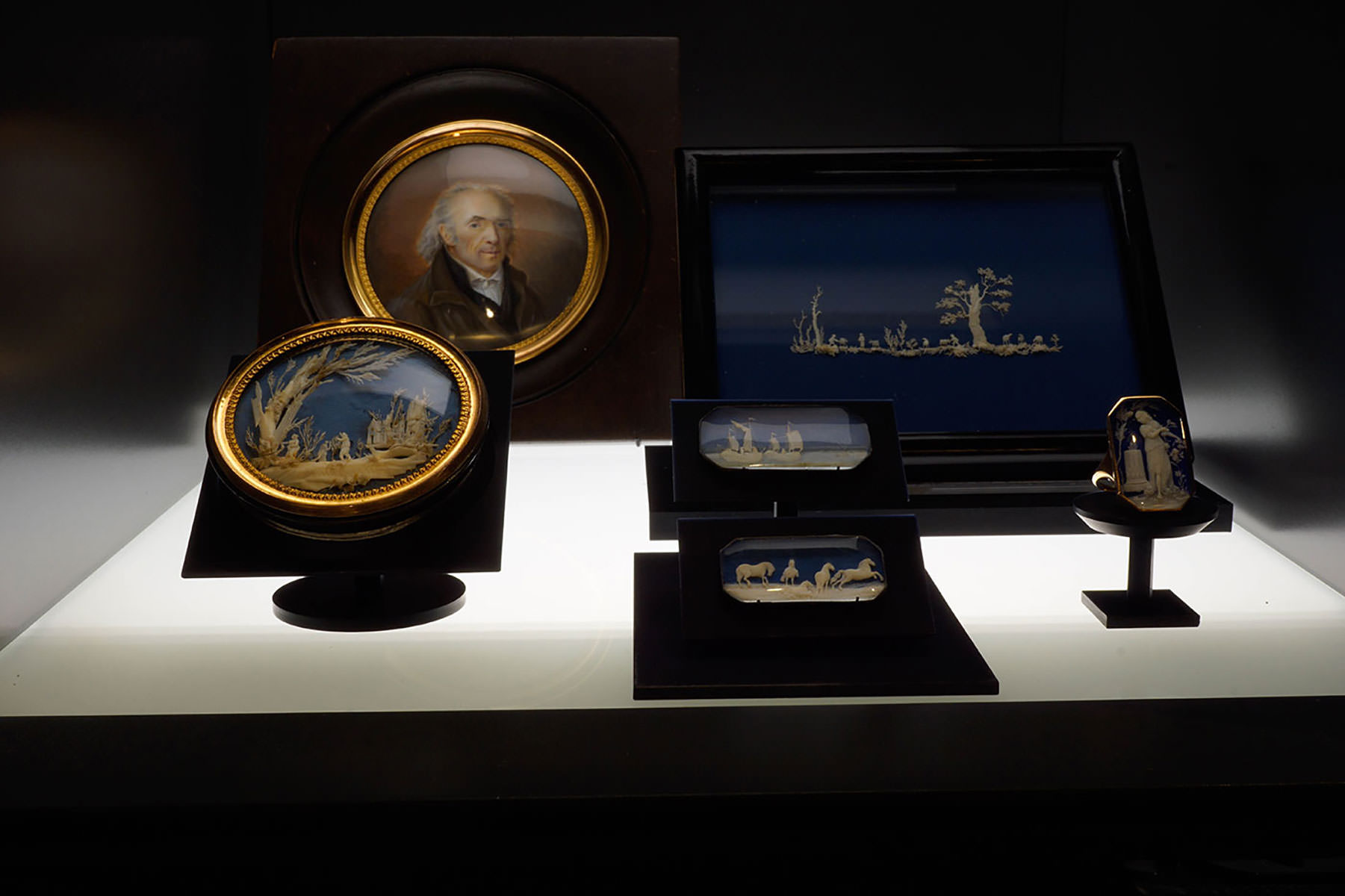 Vitrine du Musée Historique Lausanne